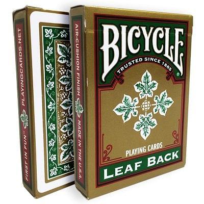 Bicycle Leaf Back Deck (Green)