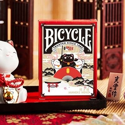 Bicycle Maneki Neko  Playing Cards