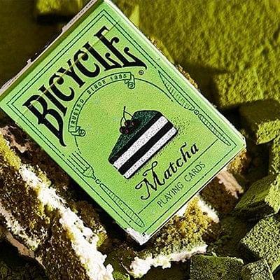 Bicycle Matcha Playing Cards