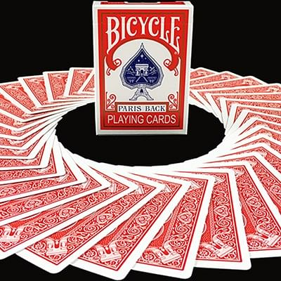 Bicycle Paris Back Limited Edition Red P…