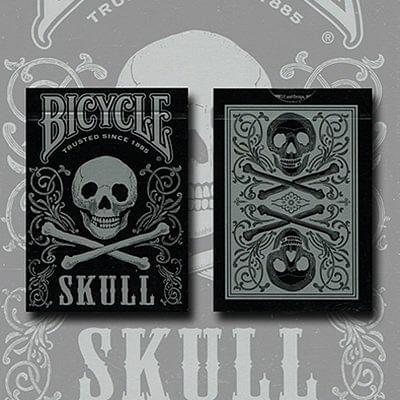 Bicycle Skull Playing Cards (Metallic Si…