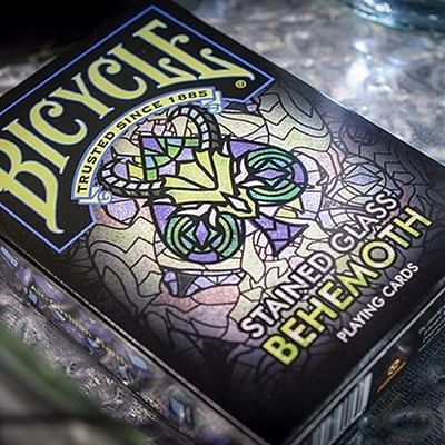 Bicycle Stained Glass Behemoth Playing C…