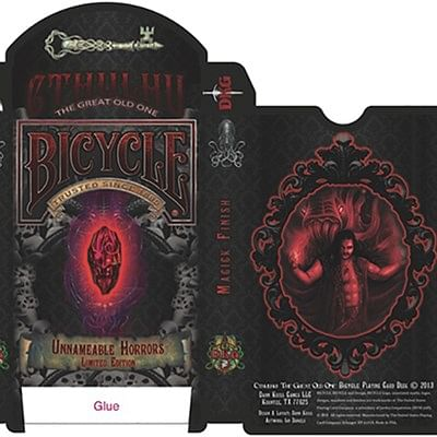 Bicycle Unnameable Horrors Limited Editi…