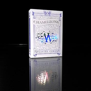Chameleon Playing Cards (Blue)