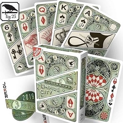 Clockwork Empire City Playing Cards