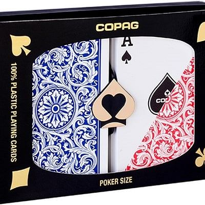 Copag 1546 Plastic Playing Cards Poker S…