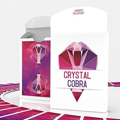 Crystal Cobra Playing Cards