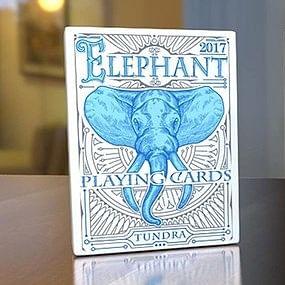 Elephant Playing Cards - Tundra