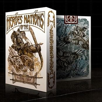 Heroes of the Nations Light Playing Card…