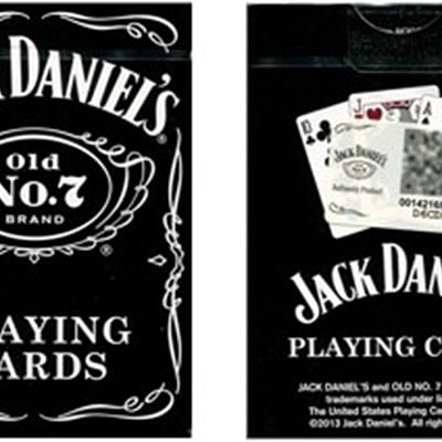 Jack Daniels Playing Cards