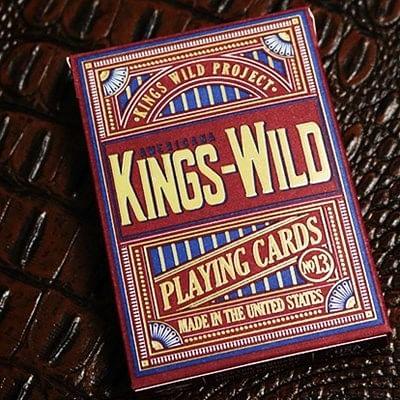 Kings Wild Americana Gilded Playing Card…