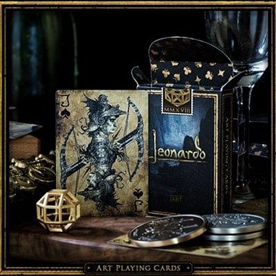 Leonardo MMXVIII Gold Edition Playing Ca…