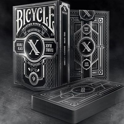 Limited Edition Bicycle Double Black 2 P…
