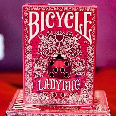 Bicycle Ladybug Playing Cards - Red