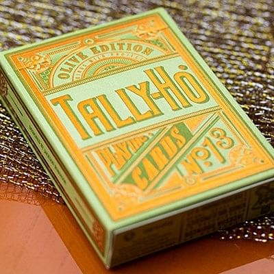 Limited Edition Olive Tally Ho Playing C…
