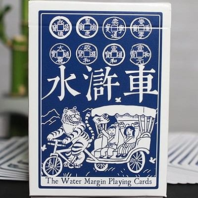 Limited Edition Water Margin Playing Car…