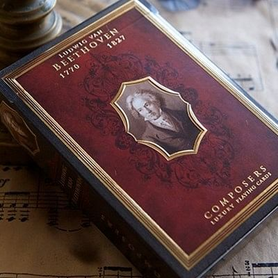 Ludwig van Beethoven  Playing Cards - Co…