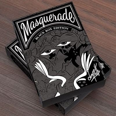Masquerade Black Box Edition Playing Car…