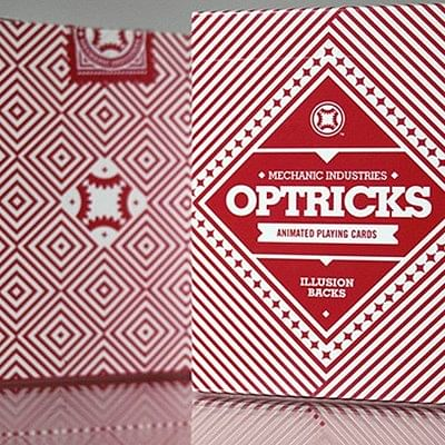 Mechanic Optricks  Deck - Red