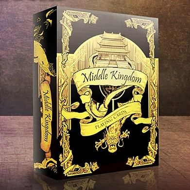 Middle Kingdom (Gold) Playing Cards Prin…