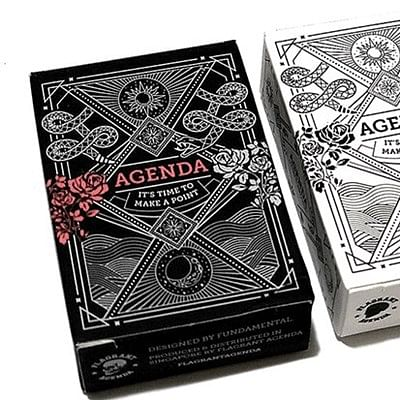 Mini Agenda Playing Cards