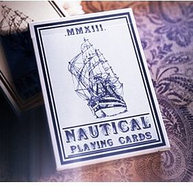 Nautical Playing Cards (Blue)