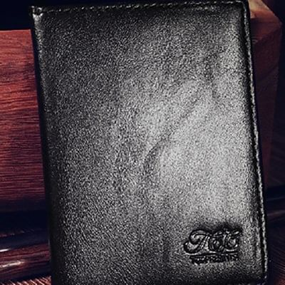 Leather Packet Wallet