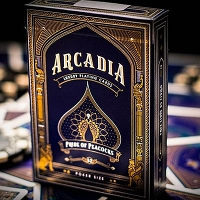 Arcadia Pride of Peacocks Playing Cards