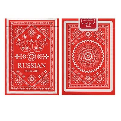 Russian Folk Art Deck