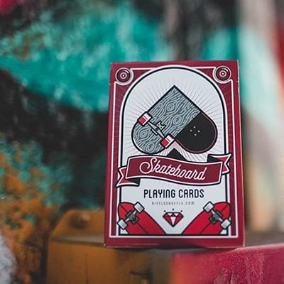 Skateboard V2 Playing Cards