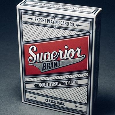 Superior Playing Cards (Red)