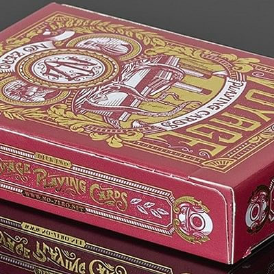 Voyage  Playing Cards (Red)