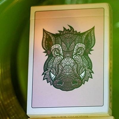 Wild Reserve: Pink Boar Playing Cards