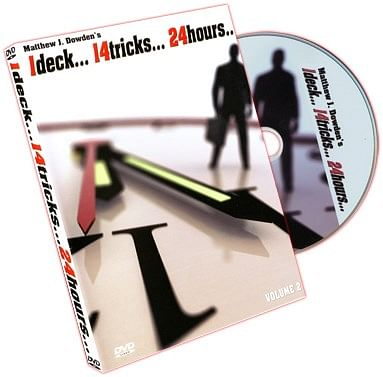 1 Deck 14 Tricks 24 Hours Volume 2 - magic