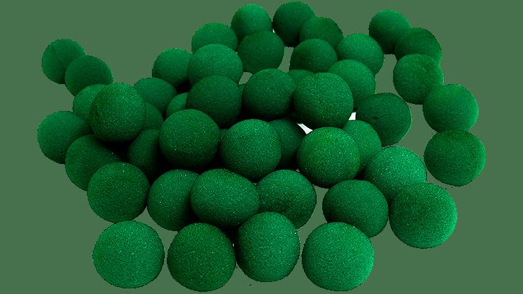 "1"" Super Soft Sponge Ball (Green) Bag of 50 from Magic By Gosh - magic"