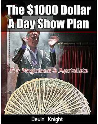 $1000 A Day Plan for Magicians - magic