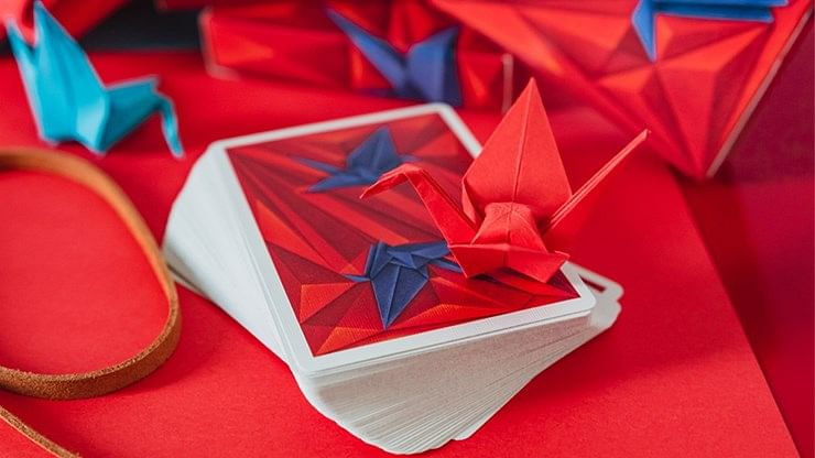 1000 Cranes Playing Cards