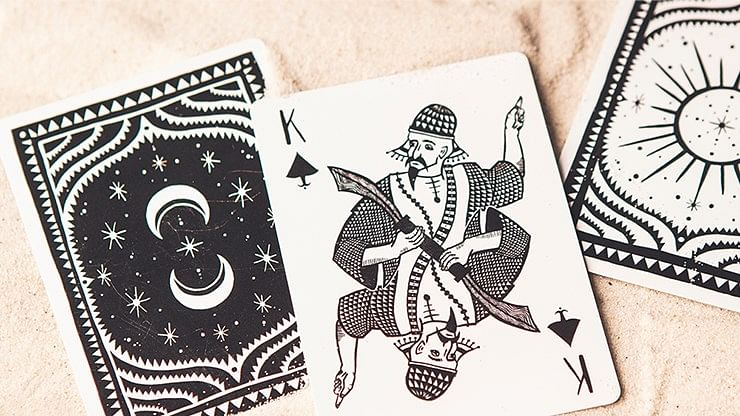 1001 Nights Playing Cards - Sun