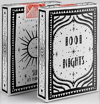 1001 Nights Playing Cards - Sun - magic