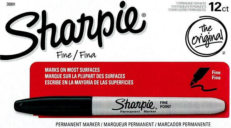 12 Normal Sharpies