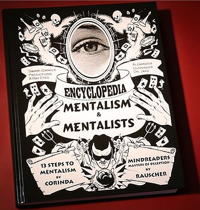 13 Steps to Mentalism PLUS Encyclopedia of Mentalism and Mentalists - magic