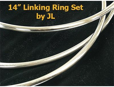 "14"" Linking Ring Set - magic"