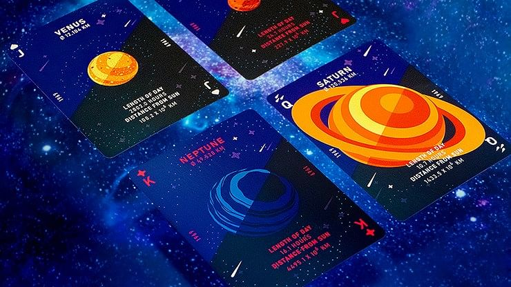 1969 Space Playing Cards