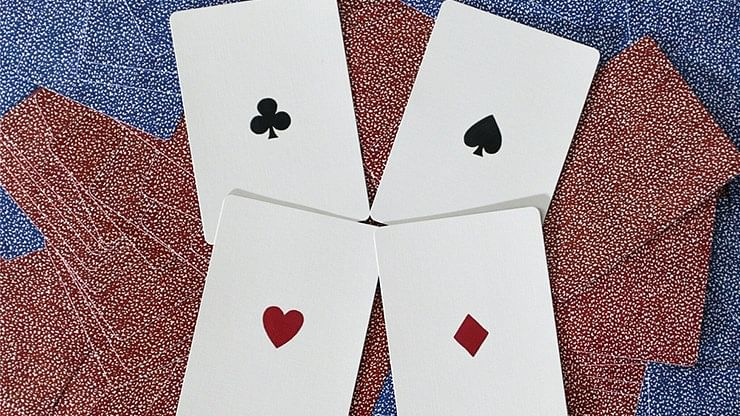 19th Century Square Faro  Playing Cards