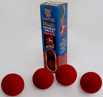 2 inch Sponge Ball  4 pack - magic