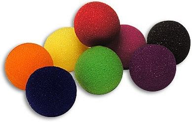 "2"" Super Soft Sponge Balls- 48 Pack (Mixed) - magic"