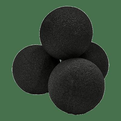 """2"""" Ultra Soft Sponge Balls (Black) - magic"""