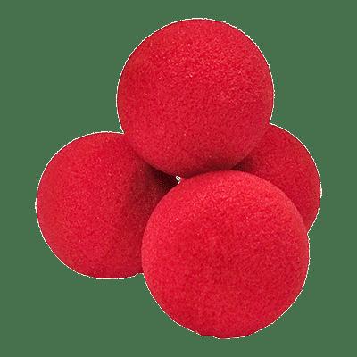 """2"""" Ultra Soft Sponge Balls (Red) - magic"""