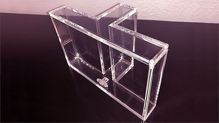 Carat T-Shaped Playing Card Display Case (3-Deck)