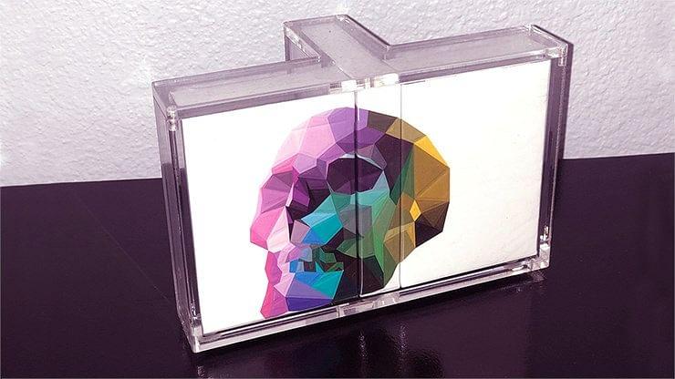 Carat T-Shaped Playing Card Display Case (3-Deck) - magic
